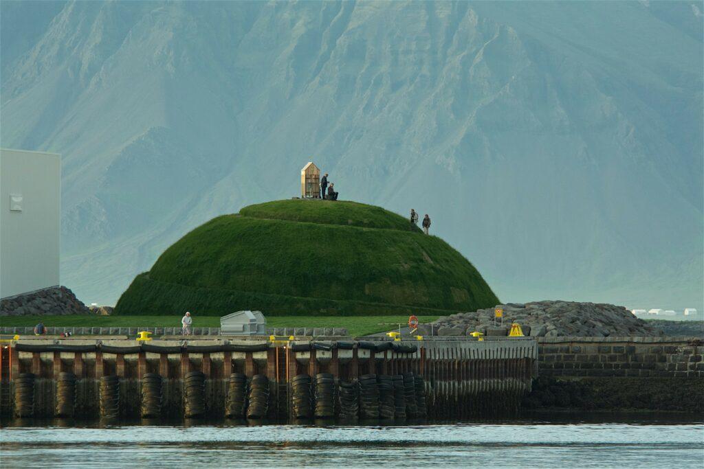 Ólöf Nordal. Thufa. Reykjavik Harbor. 2013